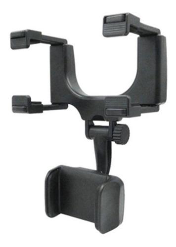 suporte do telefone do carro espelho retrovisor montagem gps