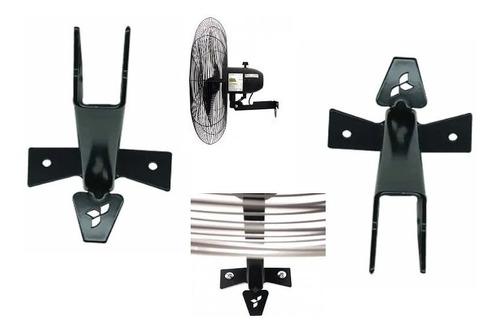 suporte do ventilador ventisilva de parede
