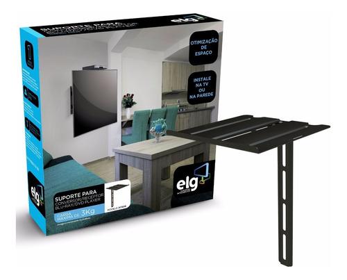 suporte dvd blu-ray decodificador p/ tv ou parede ace06 elg