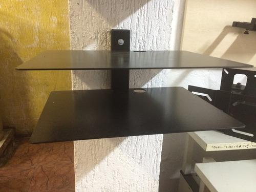 suporte dvd / receptor  para parede