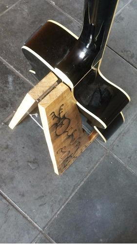 suporte em madeira para violão, guitarra,cavaquinho, ukulele