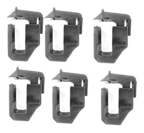 suporte em nylon de engenharia p/ capotas prudentina (6pç)
