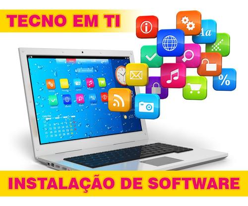 suporte em ti profissional - instalação de softwares