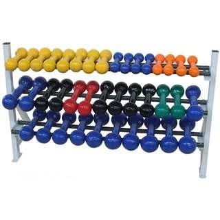 suporte estante de halteres expositor halter musculação