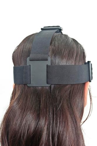 suporte fixação câmera p/ cabeça -b10-xtrax-aee-gopro