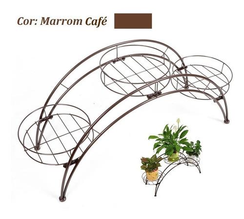 suporte floreira carrinho de ferro para vasos e plantas