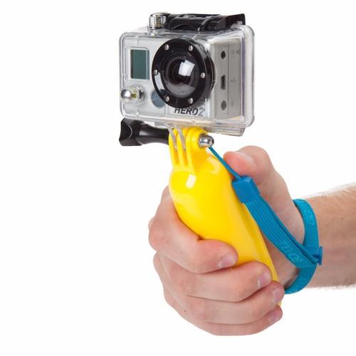 suporte flutuante para água câmera gopro go pro hero 2 3 4
