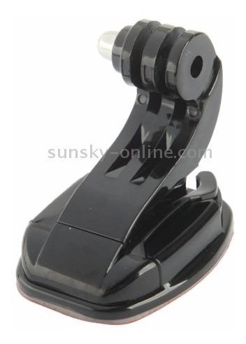 suporte frontal vertical gancho p/ capacete gopro adesivo 3m
