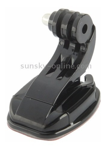 suporte frontal vertical gancho p/ capacete gopro base fita