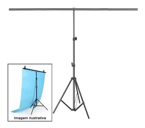 suporte fundo infinito movel tecido pvc bt02 1,40m x 1,90m