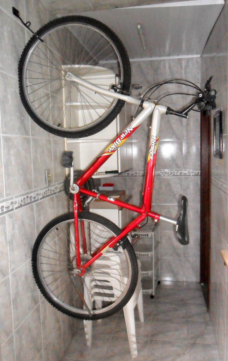 c707ad21e Suporte gancho guardar pendurar bicicleta na parede r Gancho bicicleta pared