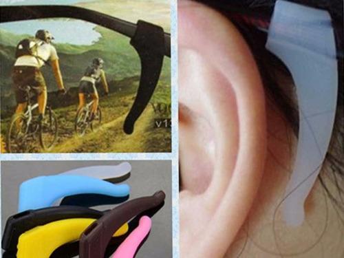 suporte gancho orelha c/ cordão p/ óculos infantil e adulto