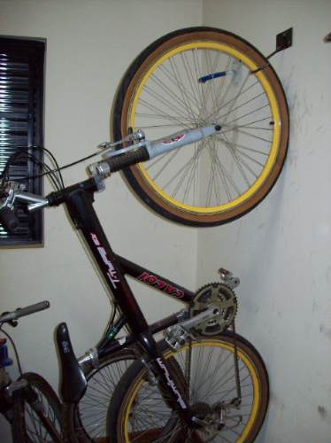 Suporte gancho para guardar pendurar bicicleta na parede - Gancho bicicleta pared ...