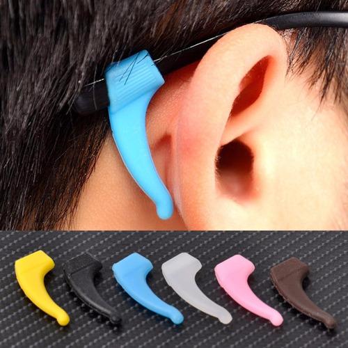 suporte gancho silicone p/ orelha óculos infantil