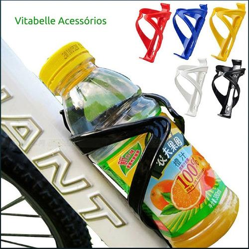suporte garrafa térmica caramanhola squeeze bike ciclismo