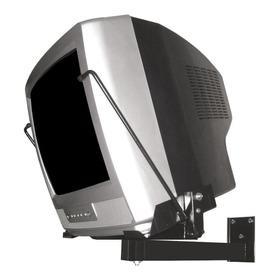Suporte Giro-visão Gva 6.0 De Parede Para Tv/monitor De 14  Até 20  Preto