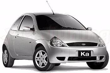 suporte guia parachoque ford ka 1997/2007 traseiro par