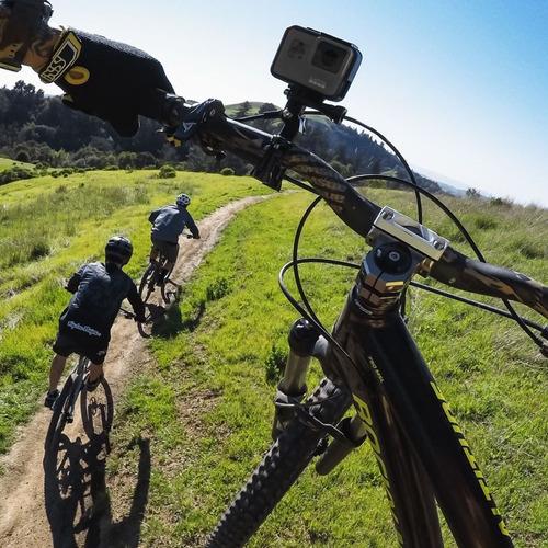 suporte guidao bike 360º gopro hero 5 6 7 handlebar seatpost