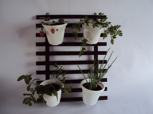 suporte jardim vertical