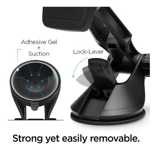 suporte magnetico articulado spigen kuel h36 360 iphone s9+