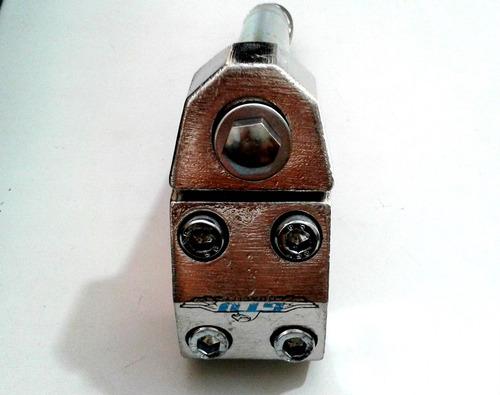 suporte mesinha de guidão de caiçara cromo
