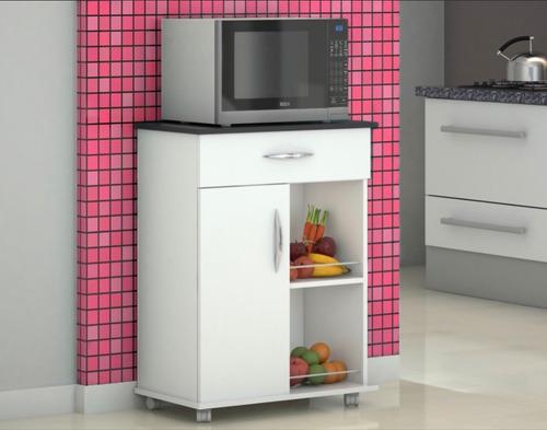 suporte microondas cozinha
