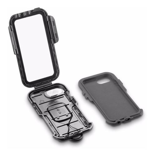 suporte moto icase interphone iphone 6 7 8 e plus 6+ 7+ 8+