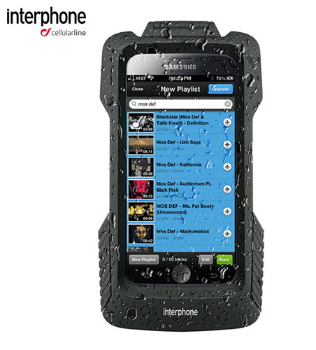 suporte moto procase interphone samsung s6 - s6 edge - s7