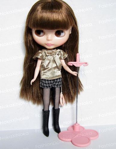 suporte original takara clover * para boneca blythe * branco