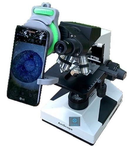 suporte p/ celular adaptador microscópio smartphone nokia