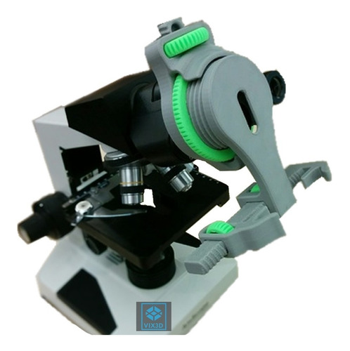 suporte p/ celular adaptador microscópio smartphone sony