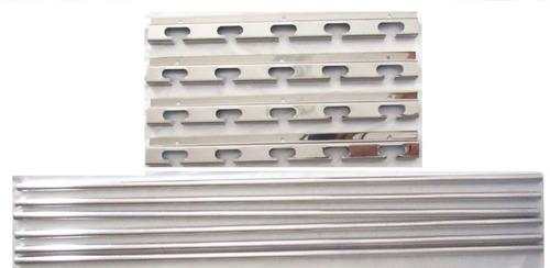 suporte p/ churrasqueira com barras maciças 60cm largura