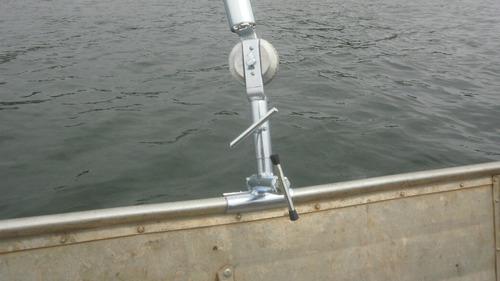 suporte p/ guarda sol para barco