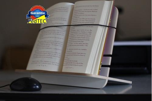 suporte p/ leitura suporte para tablet livro 40x30