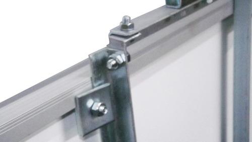 suporte p/ painel placa solar fotovoltaico poste 150w a 180w