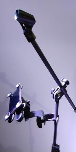 suporte p/ tablet celular reforçado p/ pedestal estante pro