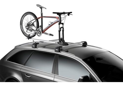 suporte para 1 bicicleta de teto thule thruride 565 + brinde