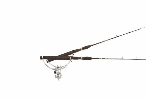 cb0ffb9b0 Suporte Para 2 Varas De Pescar Reforçado Com Regulagem - R  43