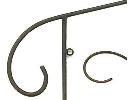 suporte para 3 vasos de planta escada de ferro para parede