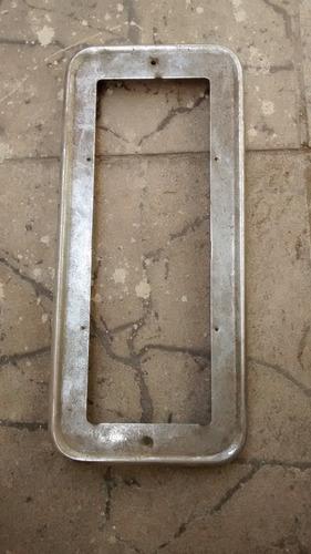 suporte para a placa traseira do fusca em ferro