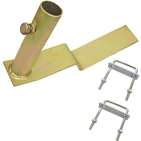 suporte para antena de telhado 3/4 polegada