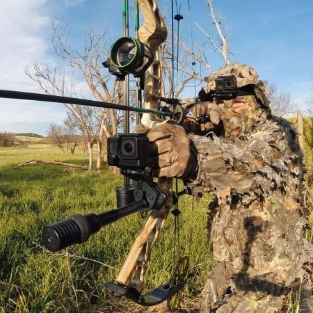 suporte para armas, varas de pescar e arcos gopro asgum-001