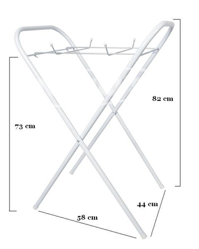 suporte para banheira - desmontável - super compacto