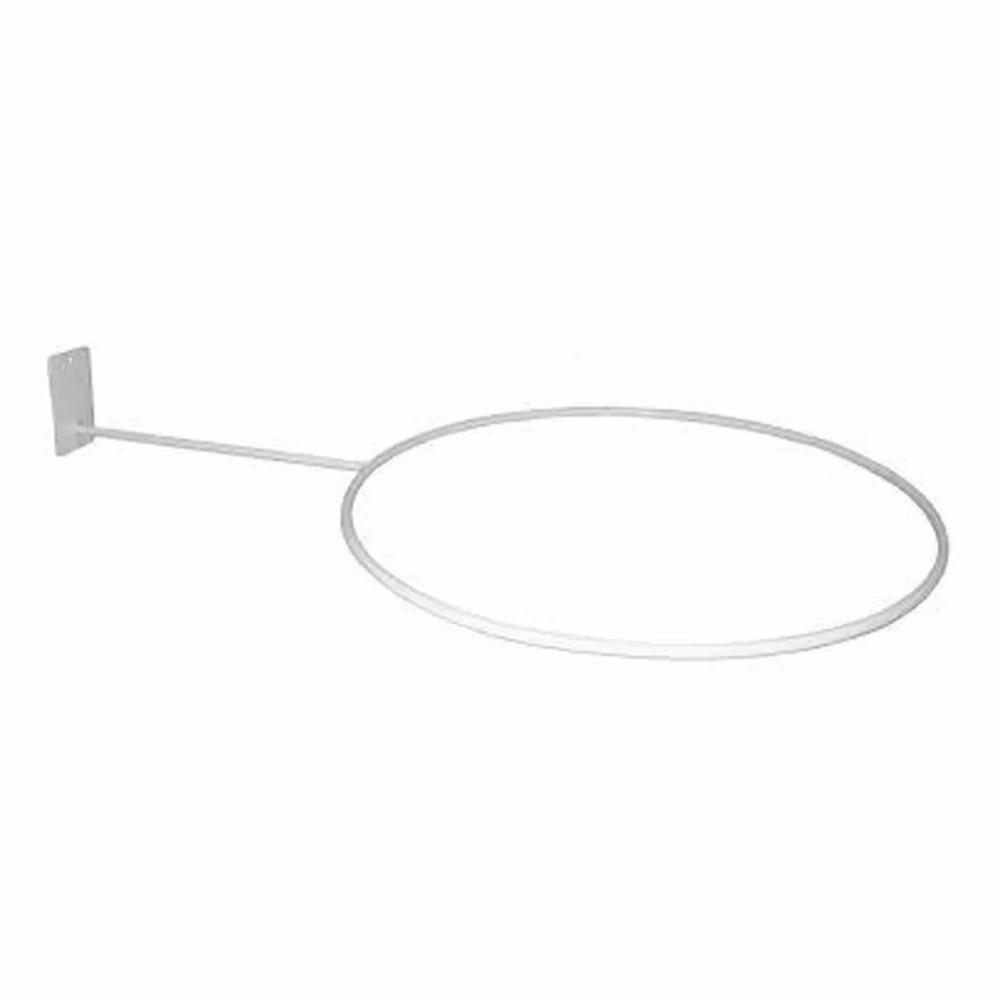 suporte para bola pilates p  parede - branco. Carregando zoom. 918e7c1a05e21