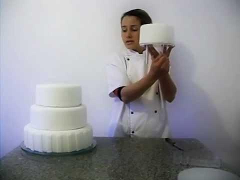 suporte para bolo 5 andares (10cm alt) + kit aro redondo 5pç