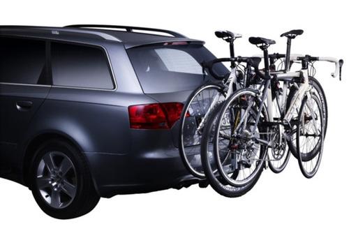 suporte para car viagem 3 bicicletas engate thule hangon 972