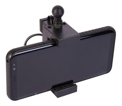 suporte para celular gps com carregador triumph tiger 800