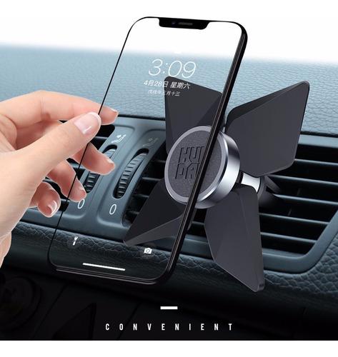 suporte para celular ventilador 362 graus gps preto