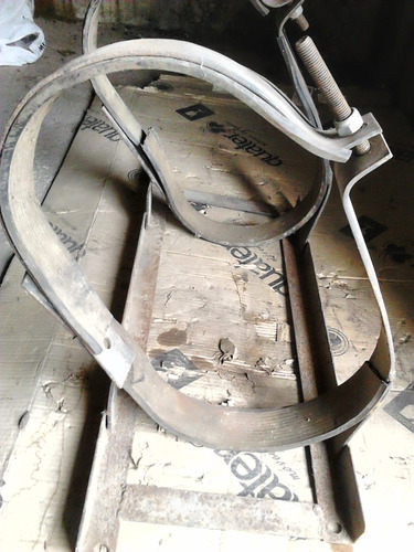 suporte para cilindro gás gnv