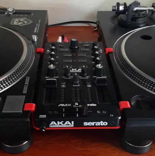 suporte para controladores akai amx & afx - modelo apoiado